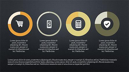 E Commerce Routine Presentation Concept, Slide 15, 04247, Organizational Charts — PoweredTemplate.com
