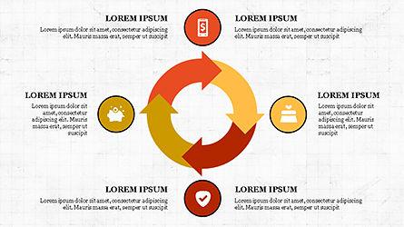 E Commerce Routine Presentation Concept, Slide 5, 04247, Organizational Charts — PoweredTemplate.com