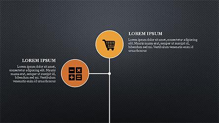 E Commerce Routine Presentation Concept, Slide 9, 04247, Organizational Charts — PoweredTemplate.com