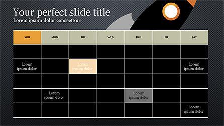 Project Stages Pitch Deck, Slide 14, 04250, Presentation Templates — PoweredTemplate.com