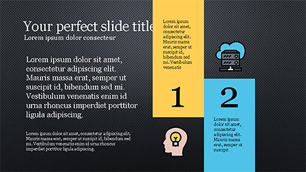 Presentation Template with Colorful Shapes, Slide 11, 04253, Presentation Templates — PoweredTemplate.com