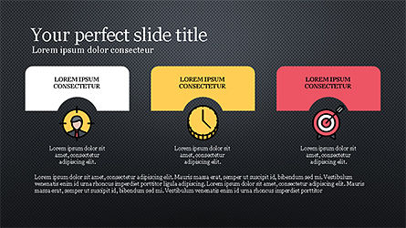 Presentation Template with Colorful Shapes, Slide 13, 04253, Presentation Templates — PoweredTemplate.com
