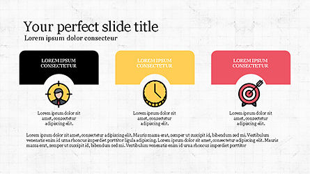 Presentation Template with Colorful Shapes, Slide 5, 04253, Presentation Templates — PoweredTemplate.com