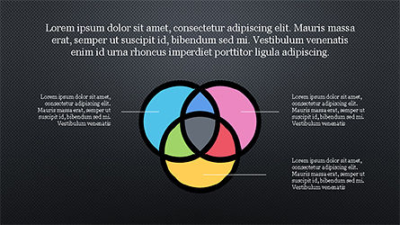 Presentation Template with Colorful Shapes, Slide 9, 04253, Presentation Templates — PoweredTemplate.com