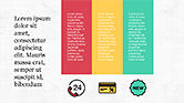 Presentation Template with Colorful Shapes#8