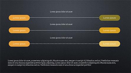 Sequential Linear Chart Diagram, Slide 16, 04254, Process Diagrams — PoweredTemplate.com