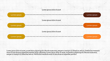 Sequential Linear Chart Diagram, Slide 8, 04254, Process Diagrams — PoweredTemplate.com