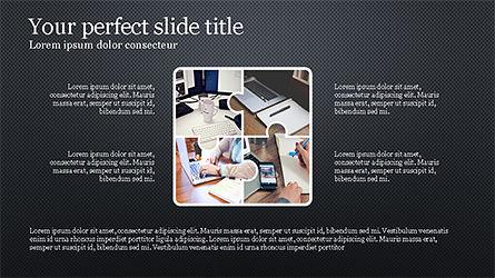 Rounded Shapes Presentation Concept, Slide 12, 04256, Presentation Templates — PoweredTemplate.com