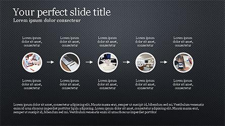 Rounded Shapes Presentation Concept, Slide 14, 04256, Presentation Templates — PoweredTemplate.com