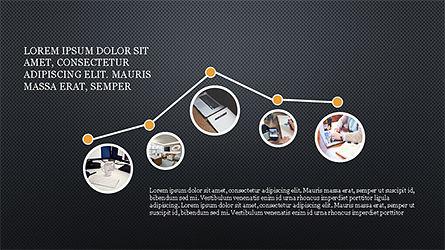 Rounded Shapes Presentation Concept, Slide 16, 04256, Presentation Templates — PoweredTemplate.com