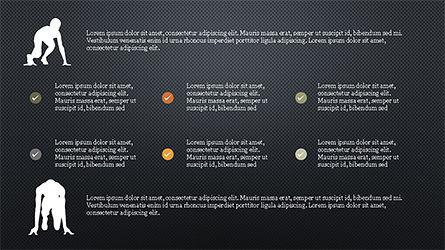 Runner Silhouettes Presentation Template, Slide 10, 04257, Presentation Templates — PoweredTemplate.com