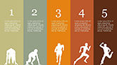 Runner Silhouettes Presentation Template#7
