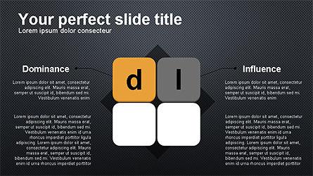 DISC Diagram Personality, Slide 10, 04259, Business Models — PoweredTemplate.com