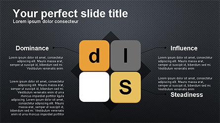 DISC Diagram Personality, Slide 11, 04259, Business Models — PoweredTemplate.com