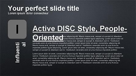 DISC Diagram Personality, Slide 14, 04259, Business Models — PoweredTemplate.com