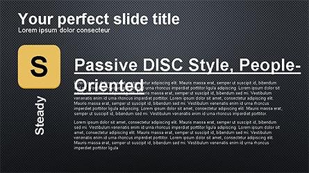 DISC Diagram Personality, Slide 15, 04259, Business Models — PoweredTemplate.com