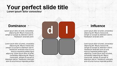 DISC Diagram Personality, Slide 2, 04259, Business Models — PoweredTemplate.com