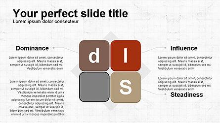 DISC Diagram Personality, Slide 3, 04259, Business Models — PoweredTemplate.com
