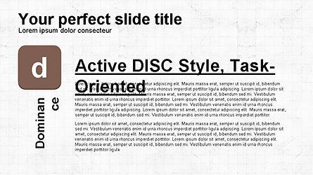 DISC Diagram Personality, Slide 5, 04259, Business Models — PoweredTemplate.com