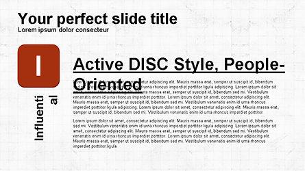 DISC Diagram Personality, Slide 6, 04259, Business Models — PoweredTemplate.com
