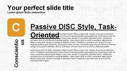 DISC Diagram Personality, Slide 8, 04259, Business Models — PoweredTemplate.com