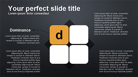 DISC Diagram Personality, Slide 9, 04259, Business Models — PoweredTemplate.com