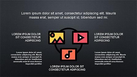Content Marketing Presentation Concept, Slide 14, 04260, Presentation Templates — PoweredTemplate.com