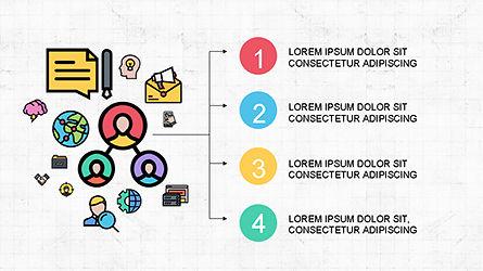 Content Marketing Presentation Concept, Slide 5, 04260, Presentation Templates — PoweredTemplate.com