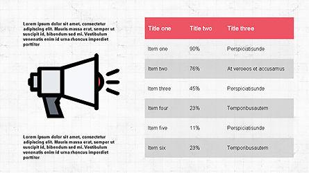 Content Marketing Presentation Concept, Slide 8, 04260, Presentation Templates — PoweredTemplate.com