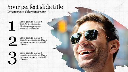 Successful Lifestyle Presentation Template, 04261, Presentation Templates — PoweredTemplate.com