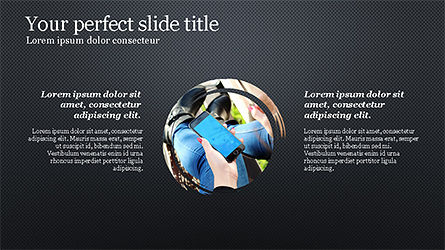 Successful Lifestyle Presentation Template, Slide 12, 04261, Presentation Templates — PoweredTemplate.com