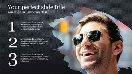 Successful Lifestyle Presentation Template, Slide 9, 04261, Presentation Templates — PoweredTemplate.com