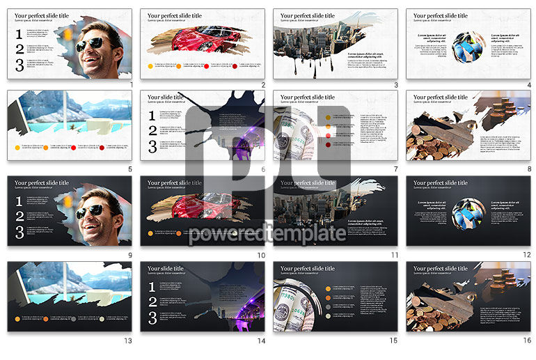 Successful Lifestyle Presentation Template