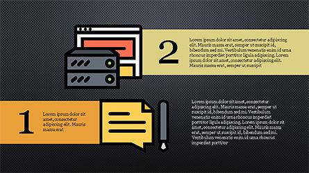 Software Development Presentation Template, Slide 12, 04262, Organizational Charts — PoweredTemplate.com