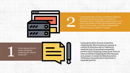 Software Development Presentation Template, Slide 4, 04262, Organizational Charts — PoweredTemplate.com