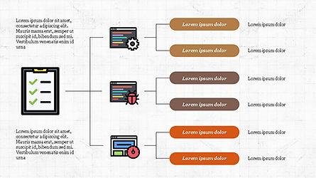 Software Development Presentation Template, Slide 7, 04262, Organizational Charts — PoweredTemplate.com