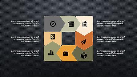 Process and Timeline Slide Deck, Slide 11, 04264, Process Diagrams — PoweredTemplate.com