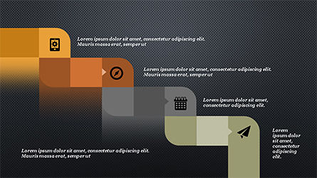 Process and Timeline Slide Deck, Slide 12, 04264, Process Diagrams — PoweredTemplate.com