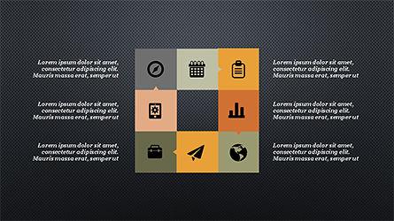 Process and Timeline Slide Deck, Slide 13, 04264, Process Diagrams — PoweredTemplate.com