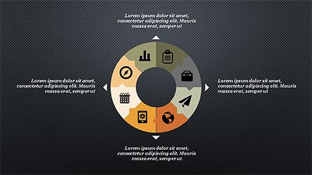 Process and Timeline Slide Deck, Slide 14, 04264, Process Diagrams — PoweredTemplate.com