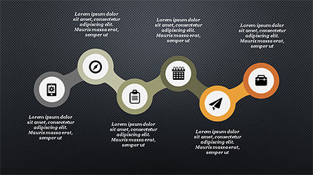 Process and Timeline Slide Deck, Slide 16, 04264, Process Diagrams — PoweredTemplate.com