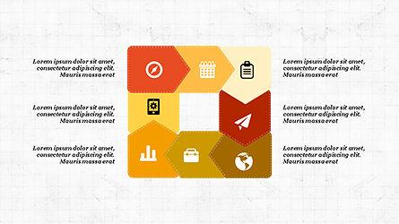 Process and Timeline Slide Deck, Slide 3, 04264, Process Diagrams — PoweredTemplate.com