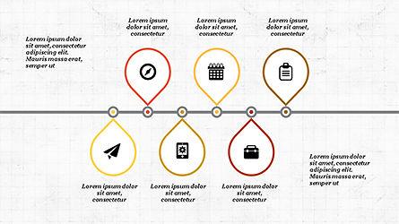 Process and Timeline Slide Deck, Slide 7, 04264, Process Diagrams — PoweredTemplate.com