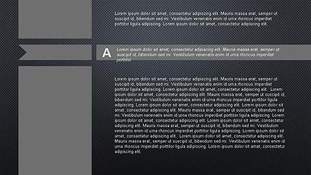 Agenda Options Ribbon Style, Slide 11, 04265, Stage Diagrams — PoweredTemplate.com