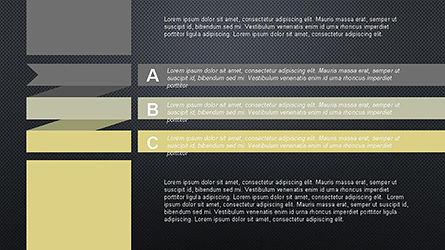 Agenda Options Ribbon Style, Slide 15, 04265, Stage Diagrams — PoweredTemplate.com