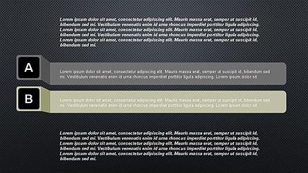 Agenda Options Ribbon Style, Slide 16, 04265, Stage Diagrams — PoweredTemplate.com