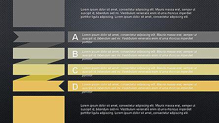 Agenda Options Ribbon Style, Slide 17, 04265, Stage Diagrams — PoweredTemplate.com