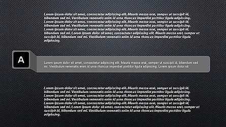 Agenda Options Ribbon Style, Slide 18, 04265, Stage Diagrams — PoweredTemplate.com