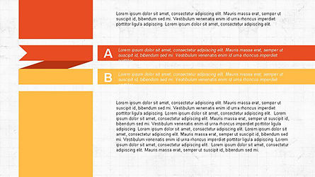 Agenda Options Ribbon Style, Slide 4, 04265, Stage Diagrams — PoweredTemplate.com