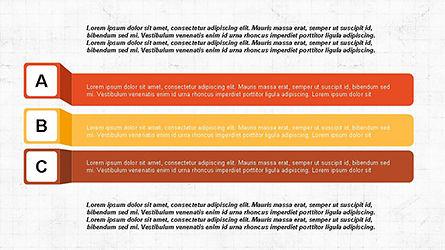 Agenda Options Ribbon Style, Slide 5, 04265, Stage Diagrams — PoweredTemplate.com
